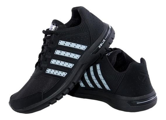 Tenis Zeus Varias Cores 35 Ao 44 Sapato Sapatenis Oferta Caminhada Desconto