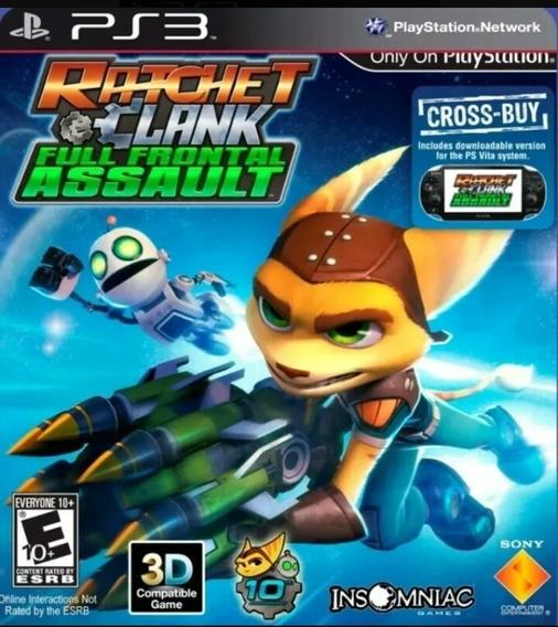 Ratchet & Clank Full Frontal Assault Ps3 Playstation 3 Jogo