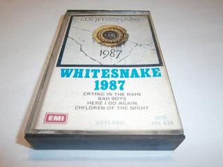 Whitesnake · 1987 · Cassette Importado / Uruguay