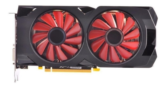 Placa de video AMD XFX Radeon RX 500 Series RX 570 RX-570P4DFD6 XXX Edition 4GB