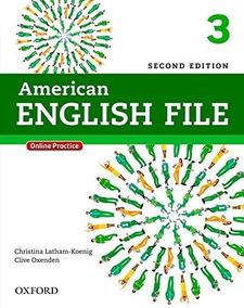American English File Level 3 Sb + Wb Impresso