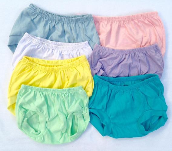 Pacote Com 6 Shorts Tapa Fralda Para Bebês (p, M E G)