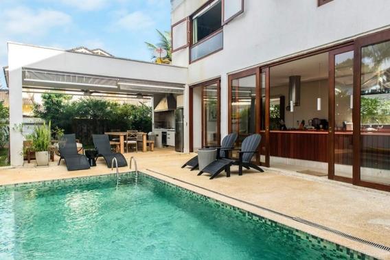 Casa Em Condomínio 5 Quartos Bertioga - Sp - Vista Linda - Ber020