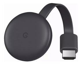Original Googlechromecast3 Novo Lacrado Streaming Hdmi 1080p