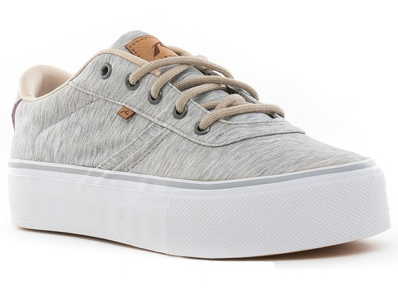 Zapatillas Rusty Asil Superhigh Grey/melange Rz000532