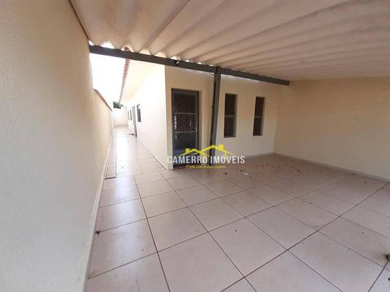 Casa Com 2 Dormitórios Para Alugar, 90 M² Por R$ 900/mês - Parque São Jerônimo - Americana/sp - Ca2352