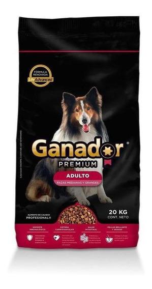 Ganador Premium Alimento Perro Adulto 20 Kg