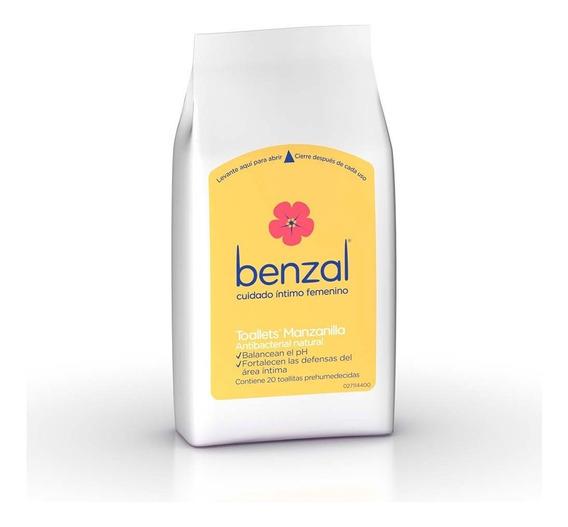 Kit Higiene Intima Benzal Toallet+wash Manzanilla