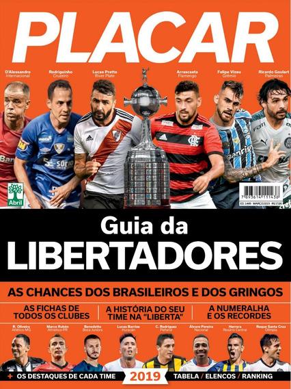Placar Guia Da Libertadores 2019 Digitalizado + 2 Álbuns