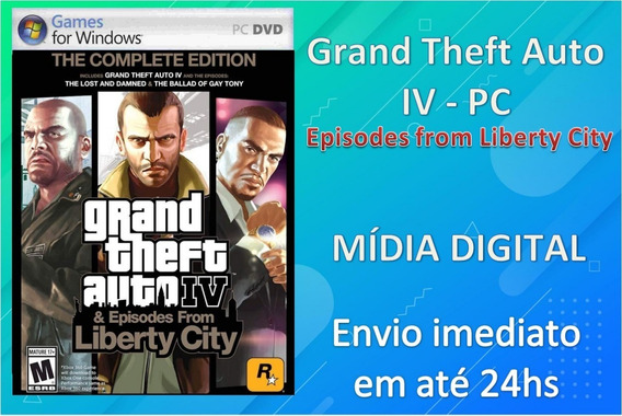 Gta 4 - Pc - Midia Digital