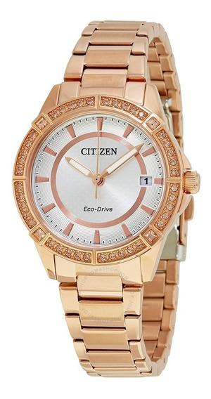 Reloj Citizen Fe6063-53a Rosa Dama