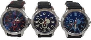 Reloj Deportivo Hombre Silicona Gt Carrera Colores