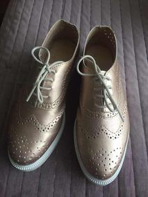 Zapato Oro Gold Trender