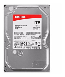 Disco Duro Interno Para Pc Toshiba 1tb 7200rpm