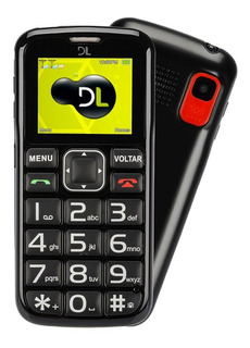 Celular Para Idosos Dl Com Câmera E Rádio Fm Yc-110 Preto