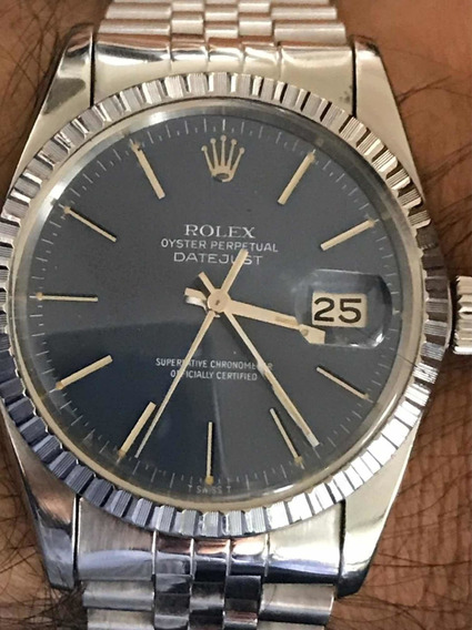Rolex Datejust Azul