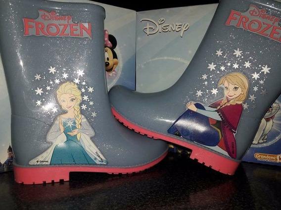 Botas Frozen Para Lluvia Importadas, Divinas Miralas!