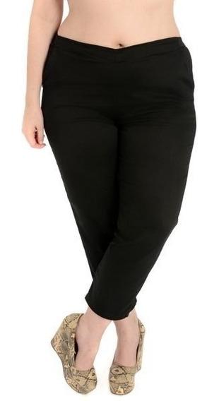 Pantalones Cotton Saten Gabardina Talles Grandes Especiales