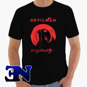 Camiseta Devilman Crybaby Akira Fudo Anime Mangá Netflix