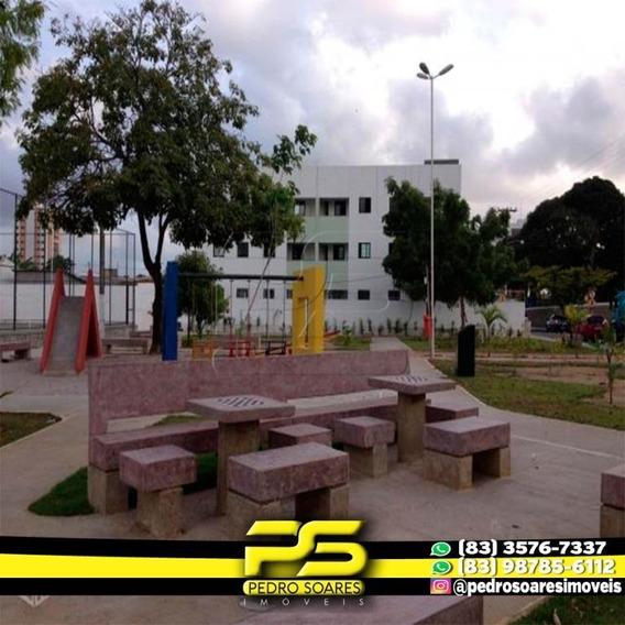 ( Mobiliado ) Apartamento Com 2 Dormitórios Para Alugar, 65 M² Por R$ 900/mês - Estados - João Pessoa/pb - Ap3012