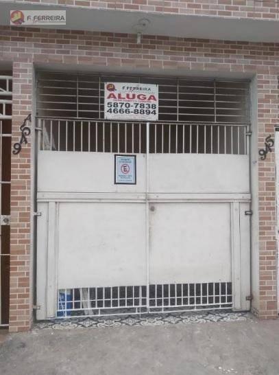 Casa Com 2 Dormitórios Para Alugar, 45 M² Por R$ 550/mês - Jardim Valo Velho - Itapecerica Da Serra/sp - Ca0260