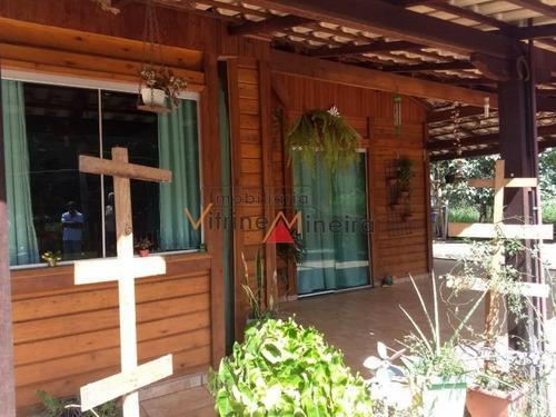Imagem 1 de 15 de Chácara Para Venda Em Itatiaiuçu, Condomínio Do Sino, 3 Dormitórios, 1 Suíte, 3 Banheiros, 2 Vagas - 70289_2-876879