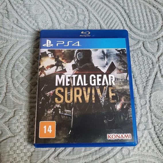 Metal Gear Survive - Ps4 - Midia Fisica