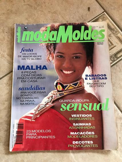 Revista Moda Moldes 136 Taís Araújo Malha Sandálias D060