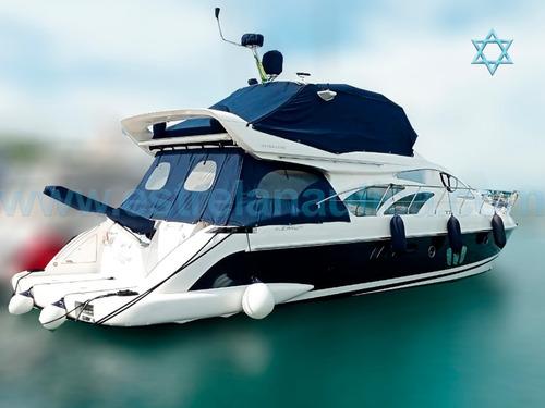 Lancha Azimut 60 Iate Ferretti Axtor Intermarine Armada