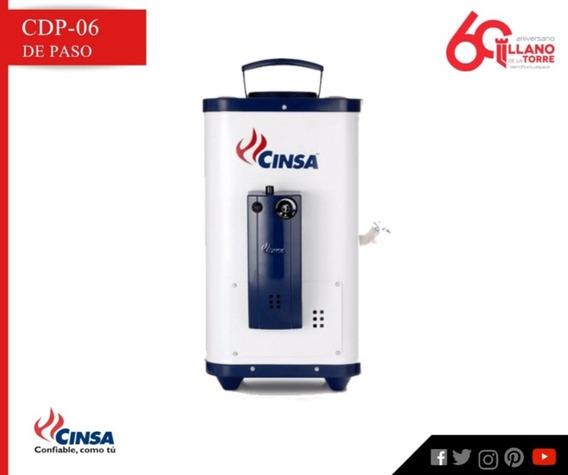 Calentador Cdp-06 Fl Gas Nat. 6 Lts/min