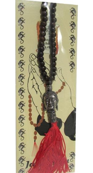 Japamala Buda 108 Contas Em Madeira Para Oração Ho