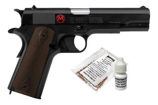 Pistola Co2 Accion Retroceso 18 Mun Blowback Cal 4.5 Mendoza