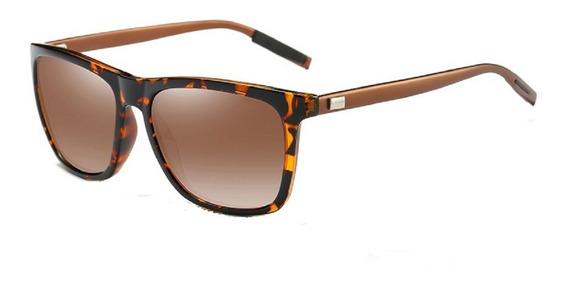 Óculos Sol Masculino Feminino Polarizado Quadrado Original
