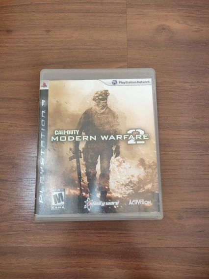 Jogo Ps3 Call Of Duty: Modern Warfare 2