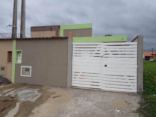 Casa À Venda Em Acesso Asfaltado - Itanhaém 4729   A.c.m