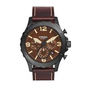 Relógio Masculino Fossil Pulseira Couro Completo Fs4656