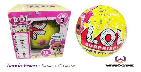Lol Surprise Confetti Pop Muñeca 7 Sorpresa Sabana Grande