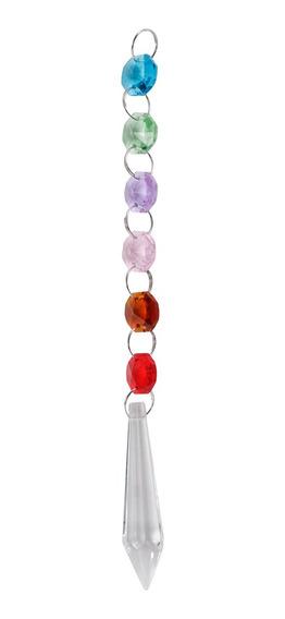 Perlas De Cristal Coloreadas De Navidad Colgante Lámpara