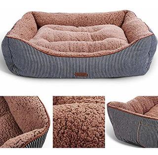 Cama Lounge Premium Lavable Para Perros Y Gatos Con La...
