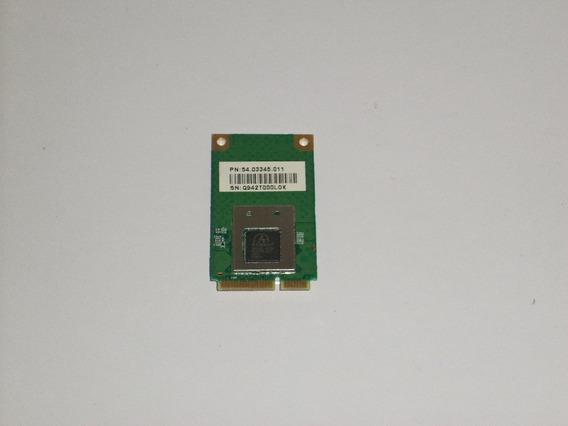 Placa Wireless Wifi Para Notebook Acer 5536 / 54.03345.011