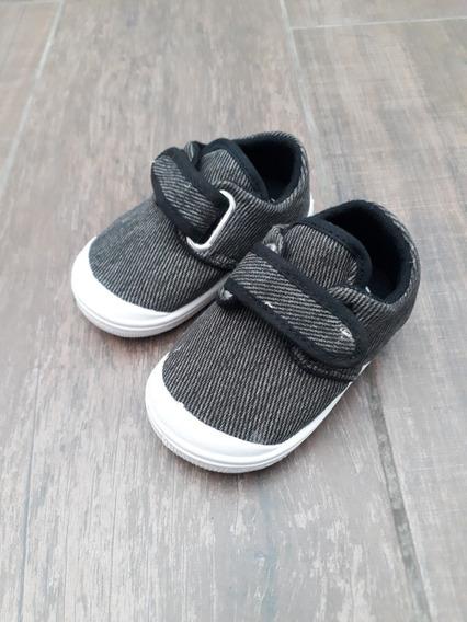 Zapatillas Cheeky Nuevas Nº18 Modelo Prusiano Gris