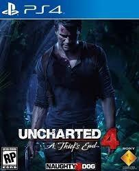 Uncharted 4 Psn 10 Dias