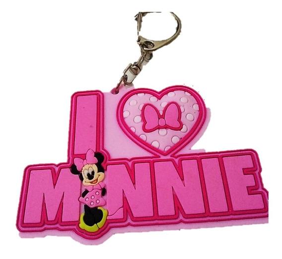 Llavero Mickey Mouse Minnie Mouse Guante Zapato Disney