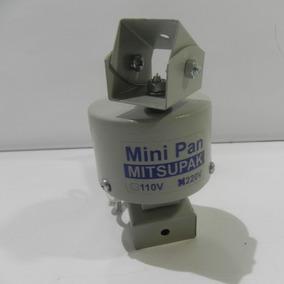 Panoramizador 220v Mini Pan Para Câmera Externo Branco Gelo