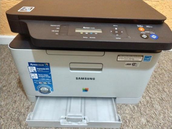 Impressora Samsung C460w (com Defeito) Para Peças