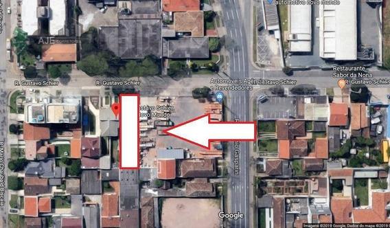 Terreno À Venda, 456 M² Por R$ 620.000,00 - Novo Mundo - Curitiba/pr - Te0030