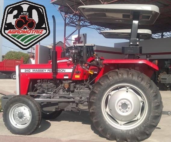 Tractor Agrícola Mf240 De 40hp Massey Ferguson