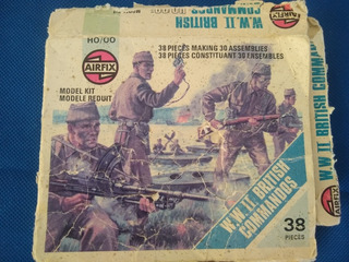 Soldaditos Escala H0/00 Comandos Británicos Ww Ll Airfix