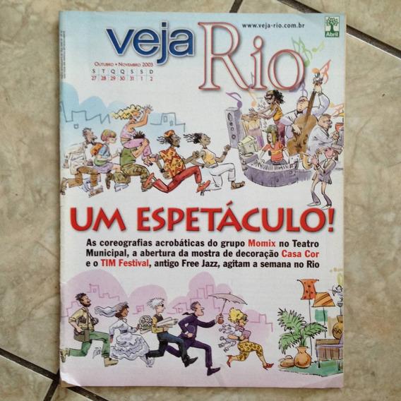 Revista Veja Rio 27.10.2013 Um Espetáculo Momix No Teatro