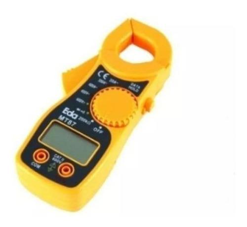 Alicate Amperímetro Digital Mt87 9ke Ac/dc Teste Diodo - Eda